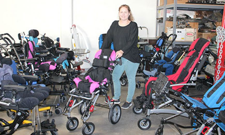 AbleCloset Gives Special Needs Children Access to Life Improving Equipment