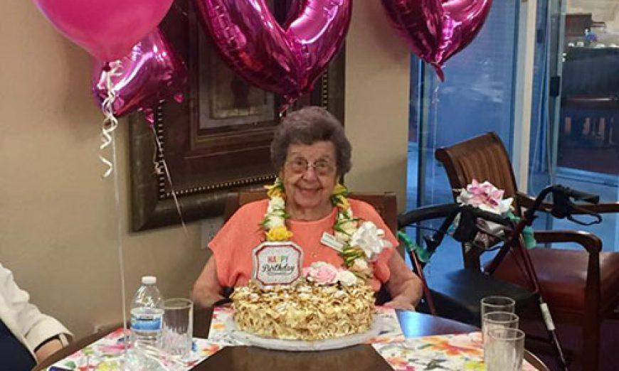 Marion Quetano Becomes a Centenarian