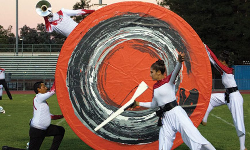 Vanguard Debuts New Look to Hometown Crowd a Pacific Procession