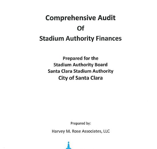 Mayor's Levi's Stadium Audit Costs Taxpayers $1.75 for Every $1 It Finds Unbilled by the City
