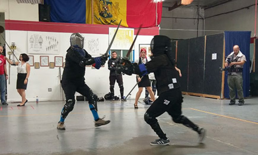 Sword Fighting Competition a Striking Success