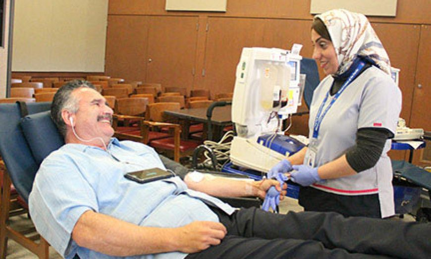 Every Drop Counts at City of Santa Clara's Blood Drive
