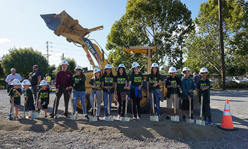 Shovels Come Out for Groundbreaking of New City Park and Community Garden