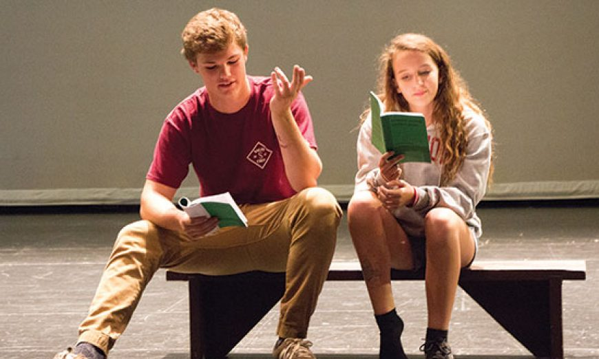 Wilcox Students Challenge Themselves at Auditions