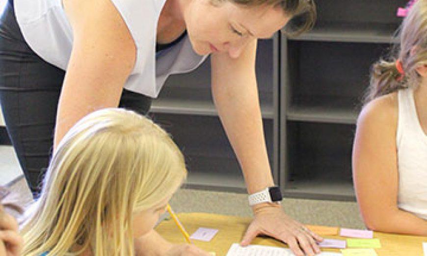 Teacher Jane Gilmore Spreads Joy to the Words