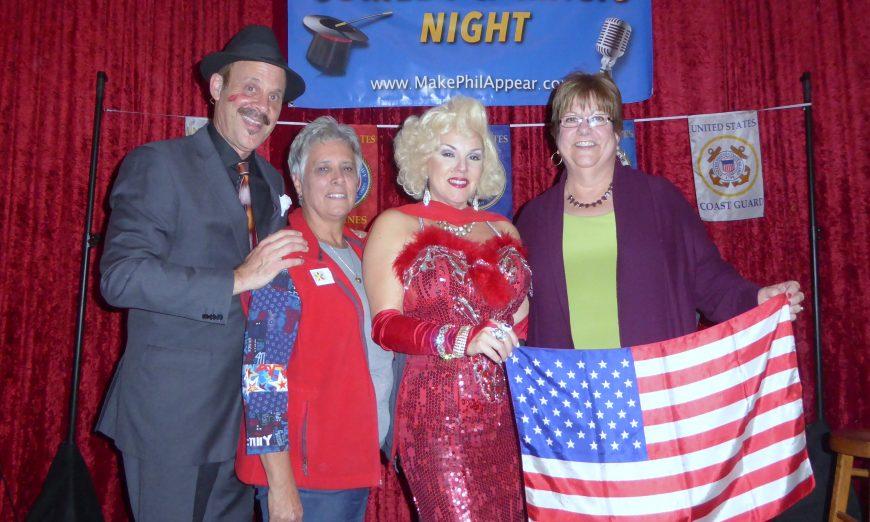Blue Star Moms magic show