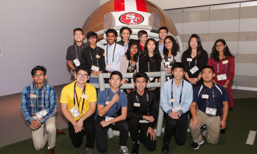 49ers Partner with Learning by Giving Foundation