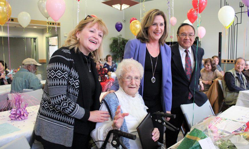 Santa Clara Resident Dolly Gendreau Turns 100
