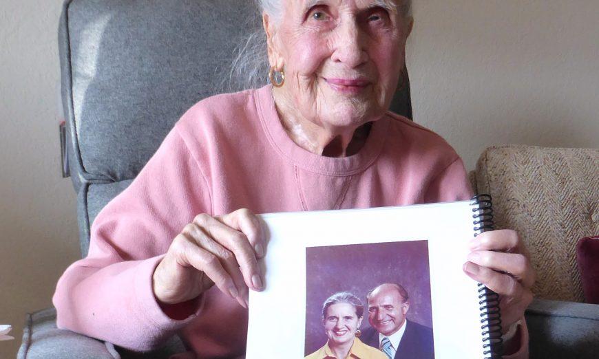 Norma Vuckan 100 years old