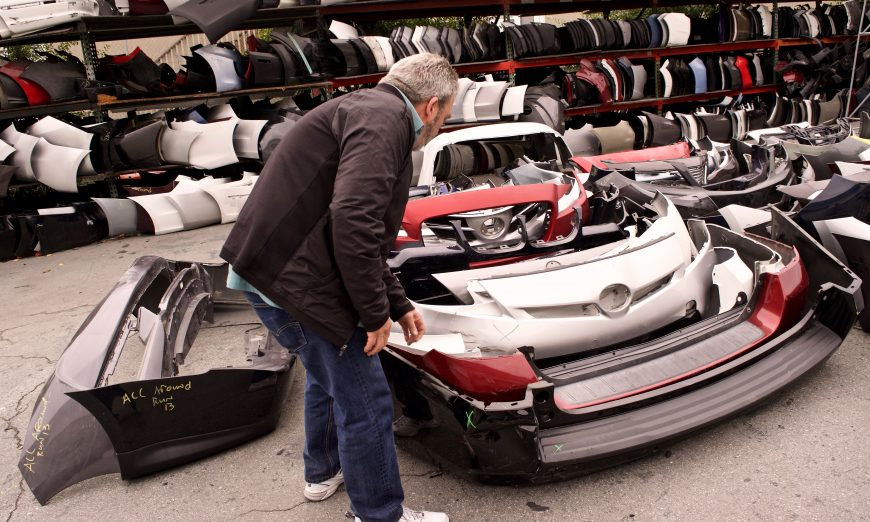 Big Auto Manufacturers Threaten Local Bumper Business Survival Faith Bumper Service Keeps Bumpers out of Landfills, on Verge of Folding