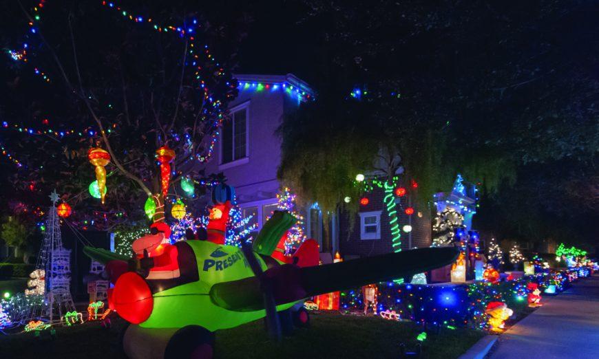Holiday Home Decorating Contest Winners Finally Announced, Santa Clara Senior Center volunteers