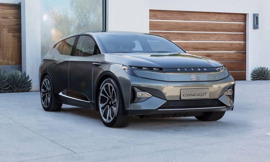 Byton MByte Company with Santa Clara Ties Prepares to Take on Tesla, Autonomous Driving, Consumer Electronics Show