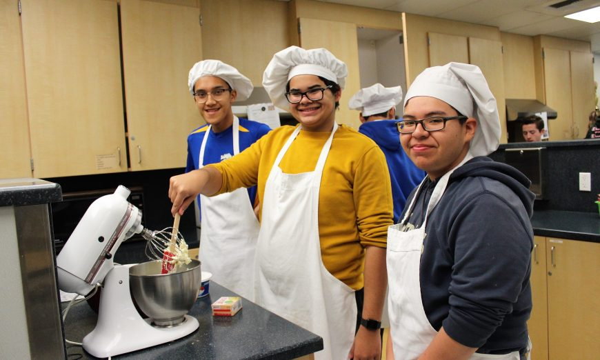 Santa Clara High School Culinary Students Prepare Sneaky Snacks