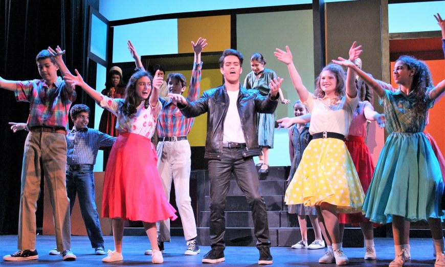 """""""Put On A Happy Face"""" at Sunnyvale Community Players """"Bye Bye Birdie"""", junior production"""
