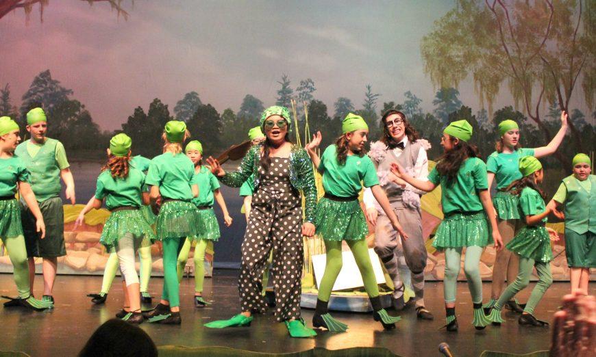 "The Opening of ""Honk"" Marks Roberta Jones Junior Theatre's 50th Anniversary, Ugly Duckling, Roberta Jones Junior Theatre Day"