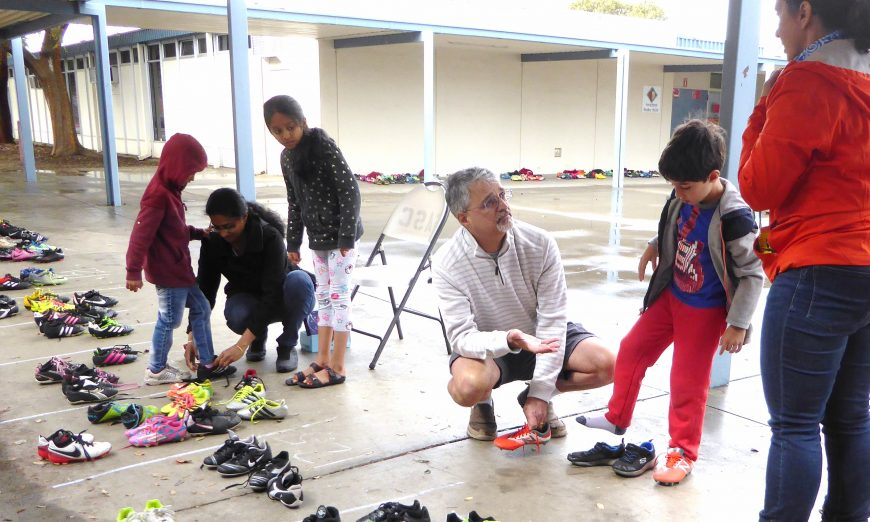 Sunnyvale Alliance Soccer Club, Sunnyvale Soccer Club Cleat Exchange Scores for Kids and Environment