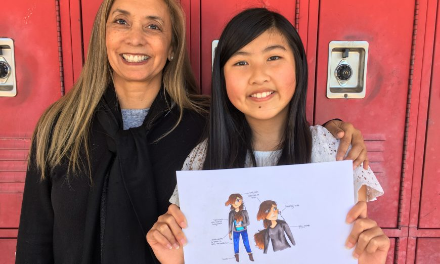 Amelia Tai,Wonder Media Story Maker's Create Your Own Character Contest