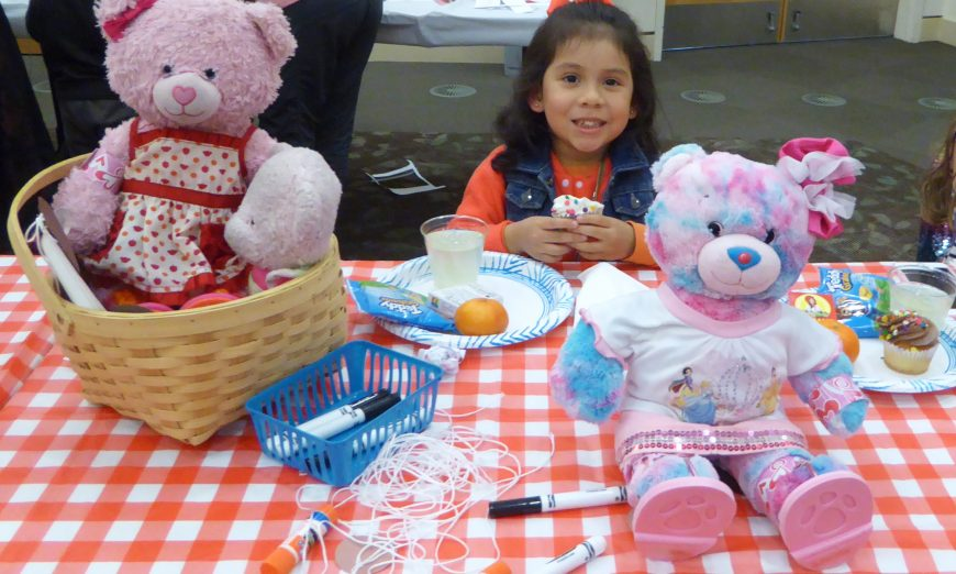 Teddy Bear Picnic at Central Park Library, events for children, teddy bears