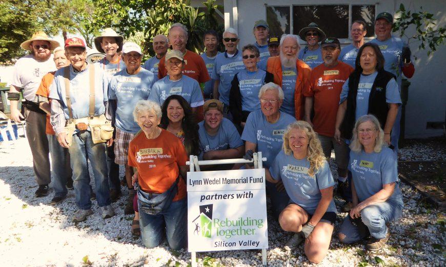 Rebuilding Together Day volunteers