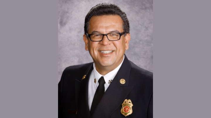 Santa Clara's new Fire Chief Ruben Torres will come to the City of Santa Clara from the San Jose Fire Department