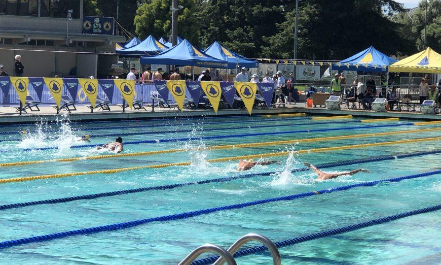 International Swim Center Swim Meet, International Swim Center Swim Meet Olympians Simone Manuel and Katie Ledecky