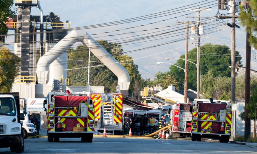 Air Products and Chemicals, Inc. Fire, hydrogen, explosion