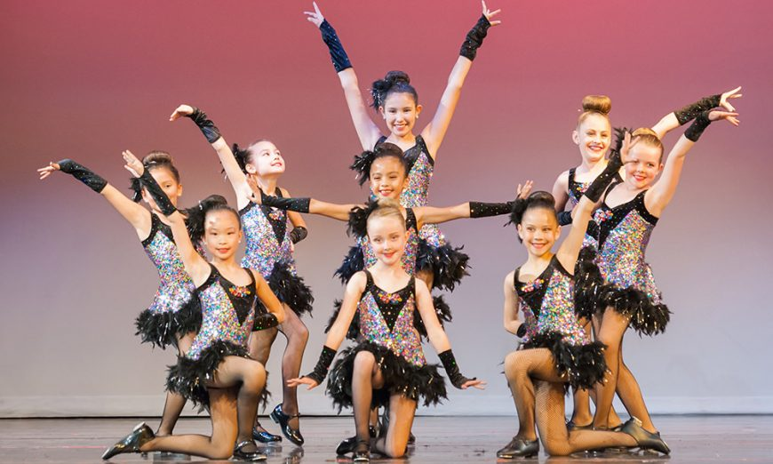 "Parks and Recreation ""Oh, What a Feeling"" Dance Recital that was held in May and featured Isabella Mills"