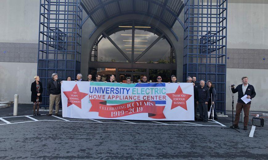 University Electric Employees Celebrate 100 Years, University Electric President Mike Heintz