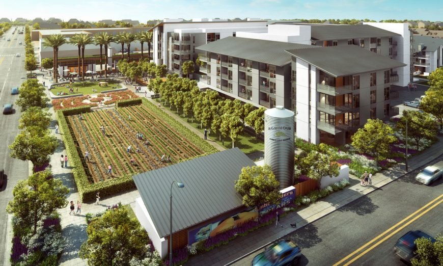 Santa Clara Agrihood, Award of Merit in the Innovation in Green Community Planning category by the American Planning Association Northern California Chapter
