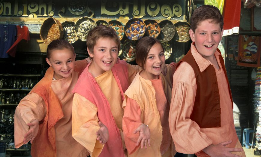 Peninsula Youth Theatre (PYT) presents Disney's Aladdin Jr. Young Performers Ensemble