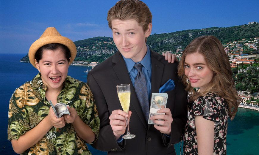 """Theo Gardiner Peninsula Youth Theatre Presents Hilarious Musical Comedy, """"Dirty Rotten Scoundrels"""""""