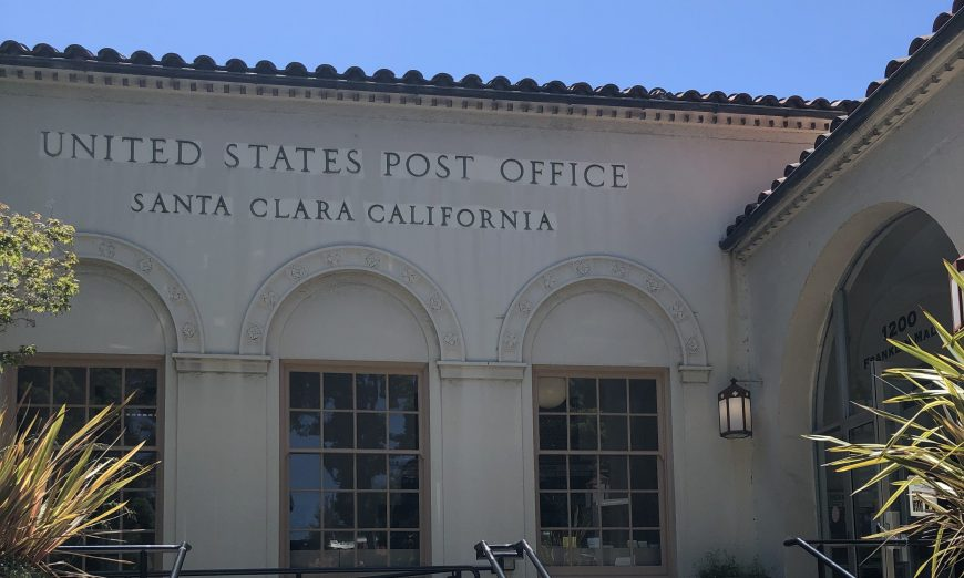 The Post Office located at Franklin Square in Santa Clara suffered from an internet outage