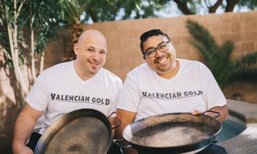 Mission College grad Jeffrey Weiss has opened a fast casual restaurant in Las Vegas called Valencian Gold. He opened it with Paras Shah.