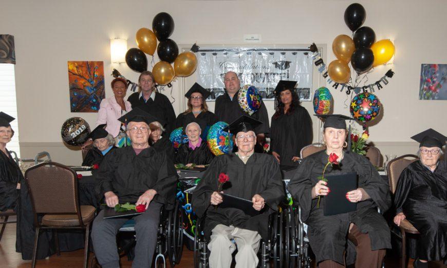 Graduation Day For Pacific Gardens Seniors