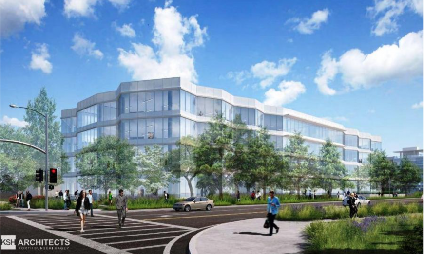 Harvest Properties and Invesco are working together on their new Sunnyvale tech campus in the Peery Park area.