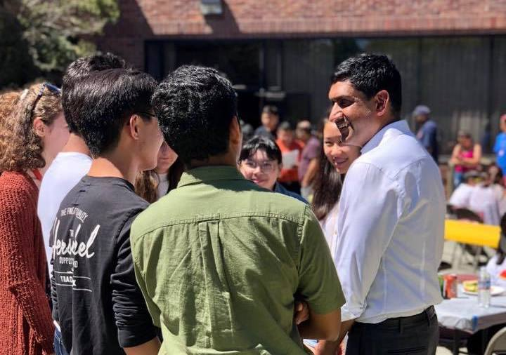 Ro Khanna, Representative from California's 17th Congressional District, speaks on the SEIU Strike, Homelessness, and Impeachment.