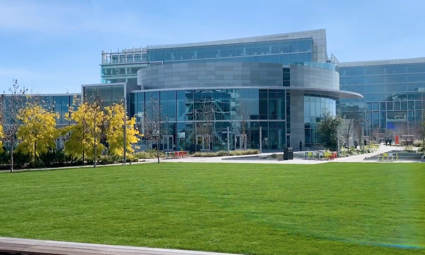 Google has bought more property in the City of Sunnyvale. They just paid $95.6 million for the property that had been owned by NetApp.