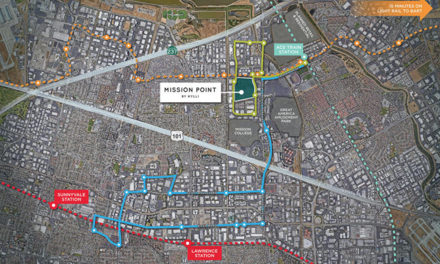 Mission Point, a development by Kylli, has been paused by the Federal Aviation Administration, aka the FAA. Mission Point is located at 3005 Democracy Way.
