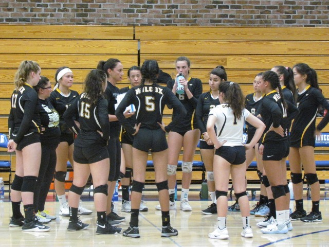 The Santa Clara Wilcox Chargers Volleyball team took on the Pioneer Mustangs. They went far, but they ultimately lost the game.