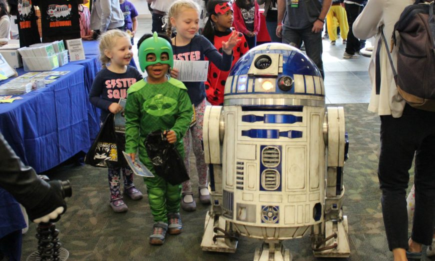 At the Santa Clara Library Comic Con, kids get to be and also see their favorite characters thanks to the magic of cosplay.