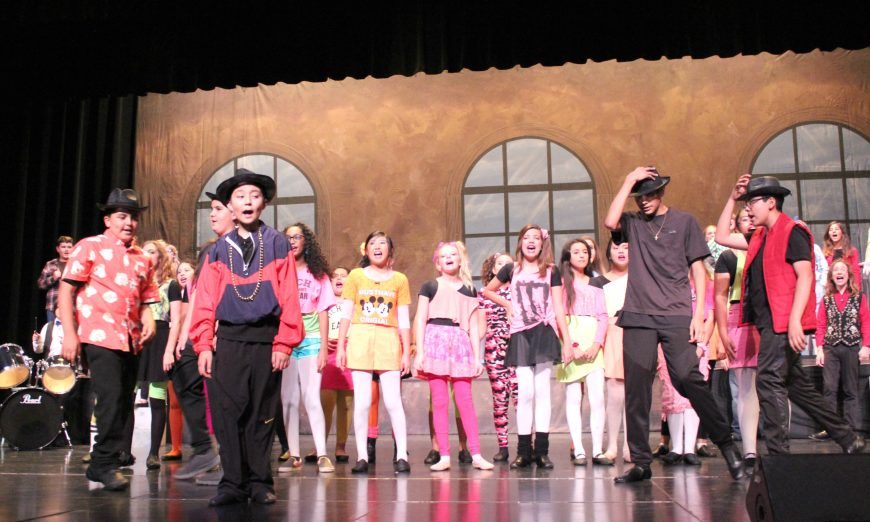 "Buchser Middle School put on a production of ""Fame Jr"" this month. The character Carmen was played by student Lana Satana."