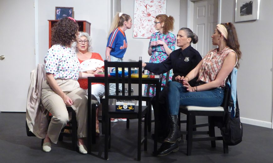 """Santa Clara Players are performing Neil Simon's Comedy """"The Odd Couple."""" However, they are doing the modern version, the female version."""