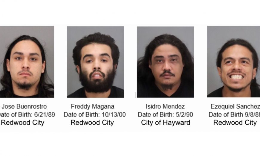 Jose Buenrostro, Freddy Magana, Isidro Mendez and Ezequiel Sanchez has been arrested for Attempted Murder. They tried to shoot someone in Sunnyvale.