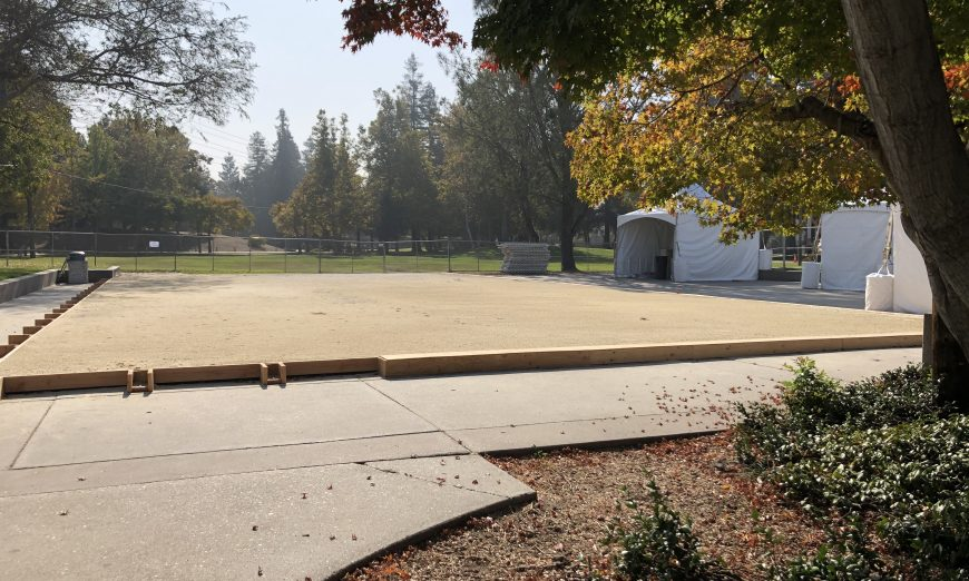 Special Ice is in charge of bringing the City of Santa Clara's ice rink to life. The Santa Clara rice rink opens on November 21.