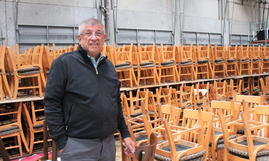 Ray Piontek and Bay Area Furniture Bank help local familes get on their feet by providing used furniture. They're based in Sunnyvale.