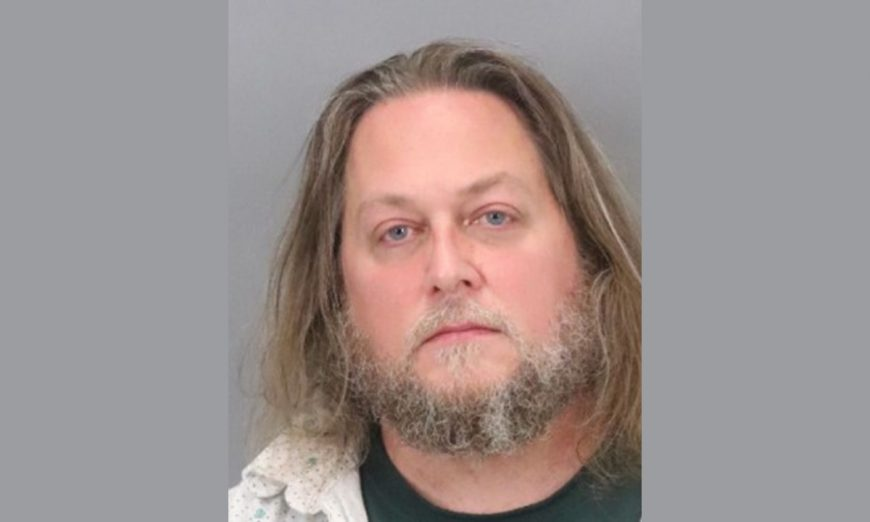 Michael Depaulo, a Richmond man, was arrested in Richmond for threatening to kill people at Sunnyvale GoDaddy office with a shotgun.