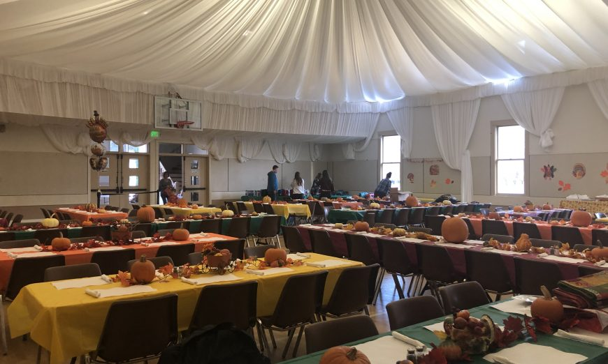 Though, Larry Marsalli has passed on, the Marsalli family has kept up the Thanksgiving day tradition and are helping locals get a warm meal.