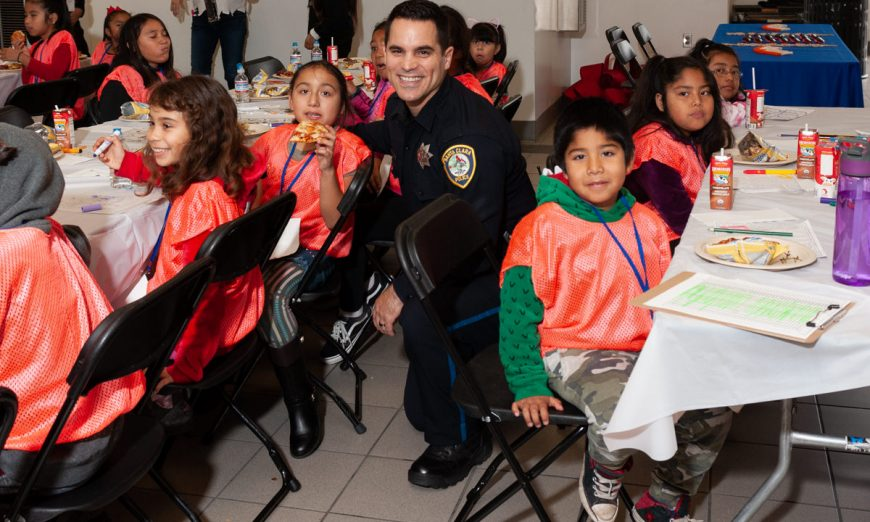 Santa Clara Rotary and their Christmas 4 Kids event spread holiday joy to local Santa Clara Unified School elementary students.