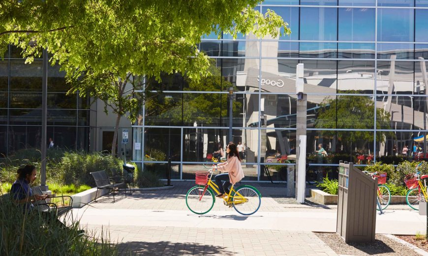 Google has now leased space a Sunnyvale's Moffett Park. Google will occupy all six buildings at Moffett Place and the buildings at Moffett Park.