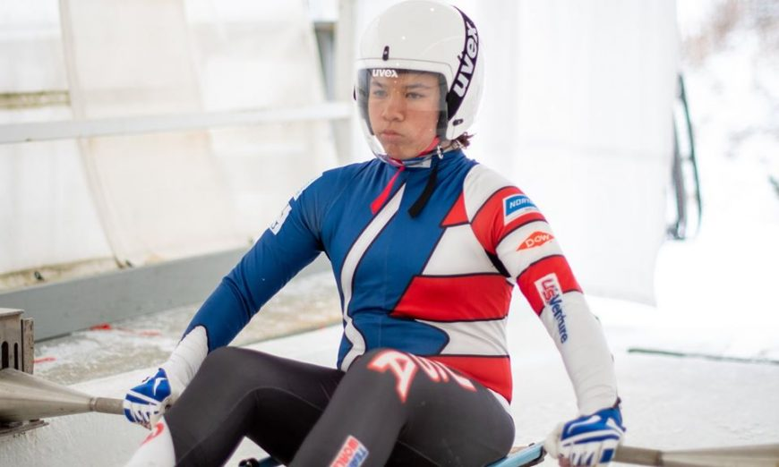 Ellie Kleinheinz is a local luger. She is on the Team USA Luge Development team. The 12-year-old wants to do Luge and the olympic level.